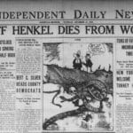 The Sept. 25, 1926, edition of the Independent Daily News records the death of Henkel, who was shot three days earlier in Lakeview and died the day before.