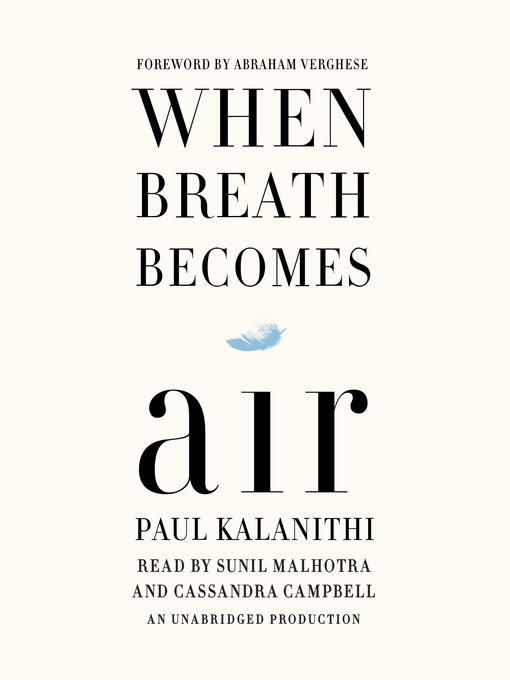 Image result for when breath become air