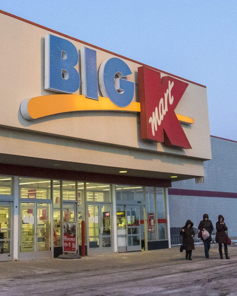 Shoppers Exit The Greenville Kmart On Thursday Day It Was Announced By Sears Holdings Corp That Store Will Be Closing In Early April