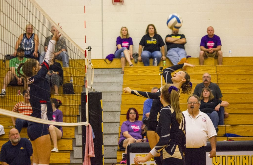 Tri County hosts Big Rapids in fundraiser volleyball game