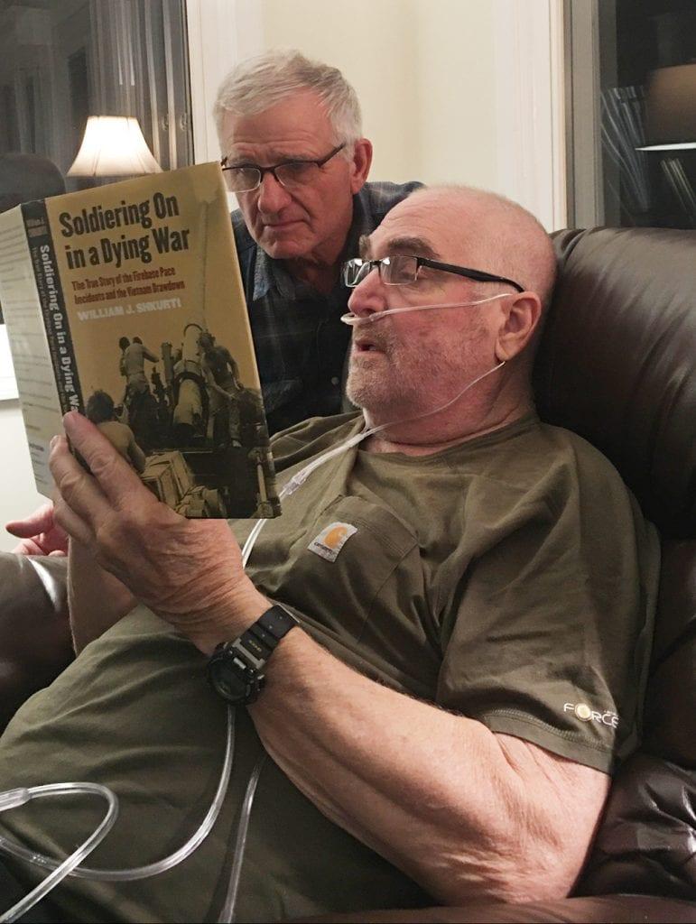 Vietnam War Comrades Reunite Following Agent Orange Skin Cancer Diagnosis