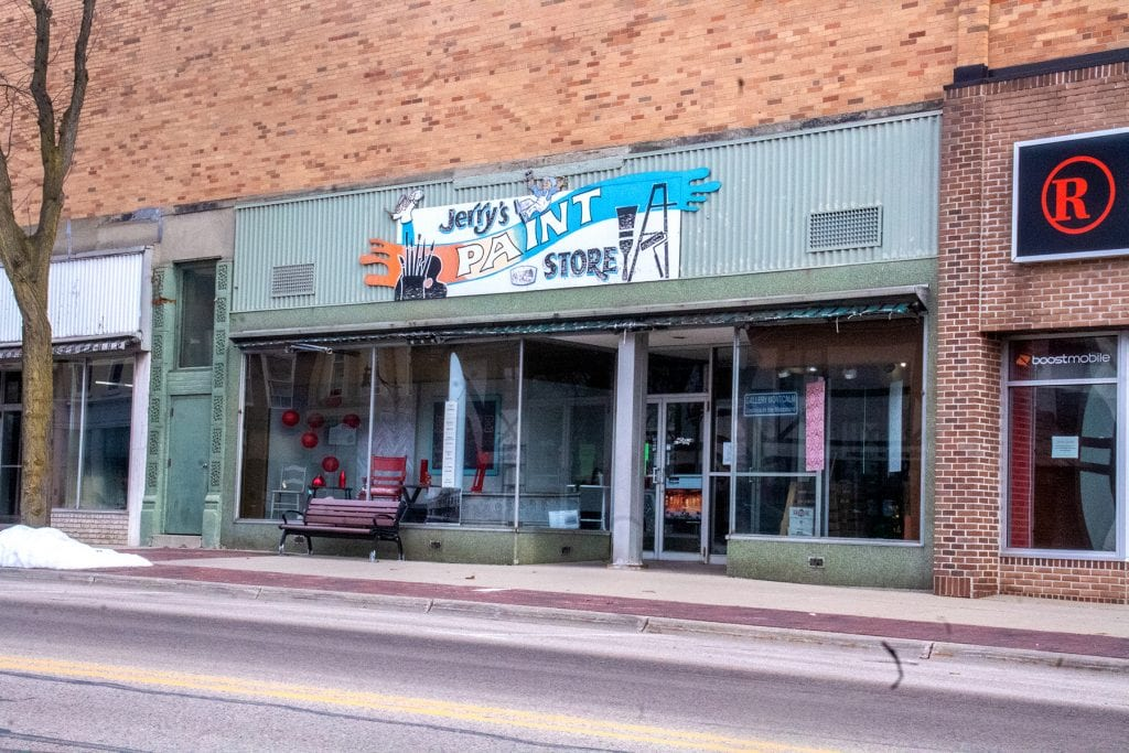 Greenville's Jerry's Paint Store to