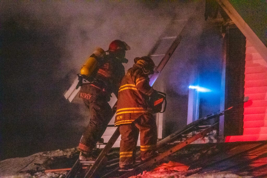 Crystal Home Suffers Heavy Damage After Structure Fire Cause Not Determined